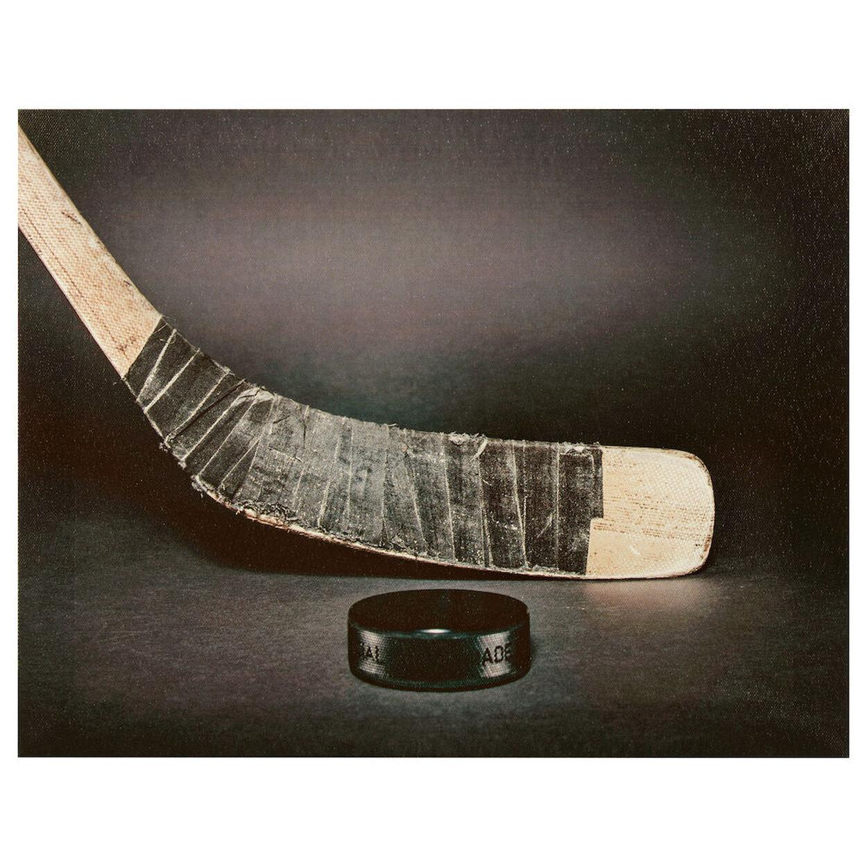 Hockey Stick Canvas
