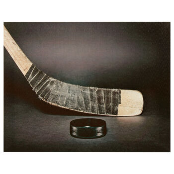Hockey Stick Canvas