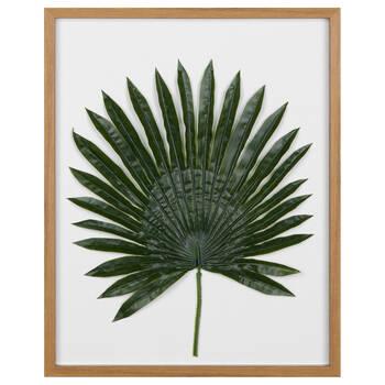 Framed 3-D Leaf
