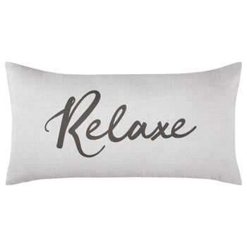 "Relaxe Decorative Lumbar Pillow 11"" X 21"""