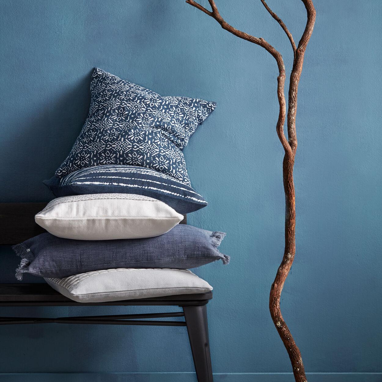 """Shibi Striped Decorative Pillow 19"""" X 19"""""""