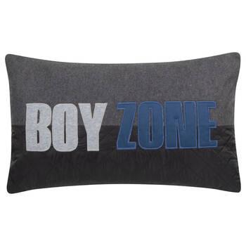 """Coussin décoratif lombaire Boy Zone 13"""" X 22"""""""