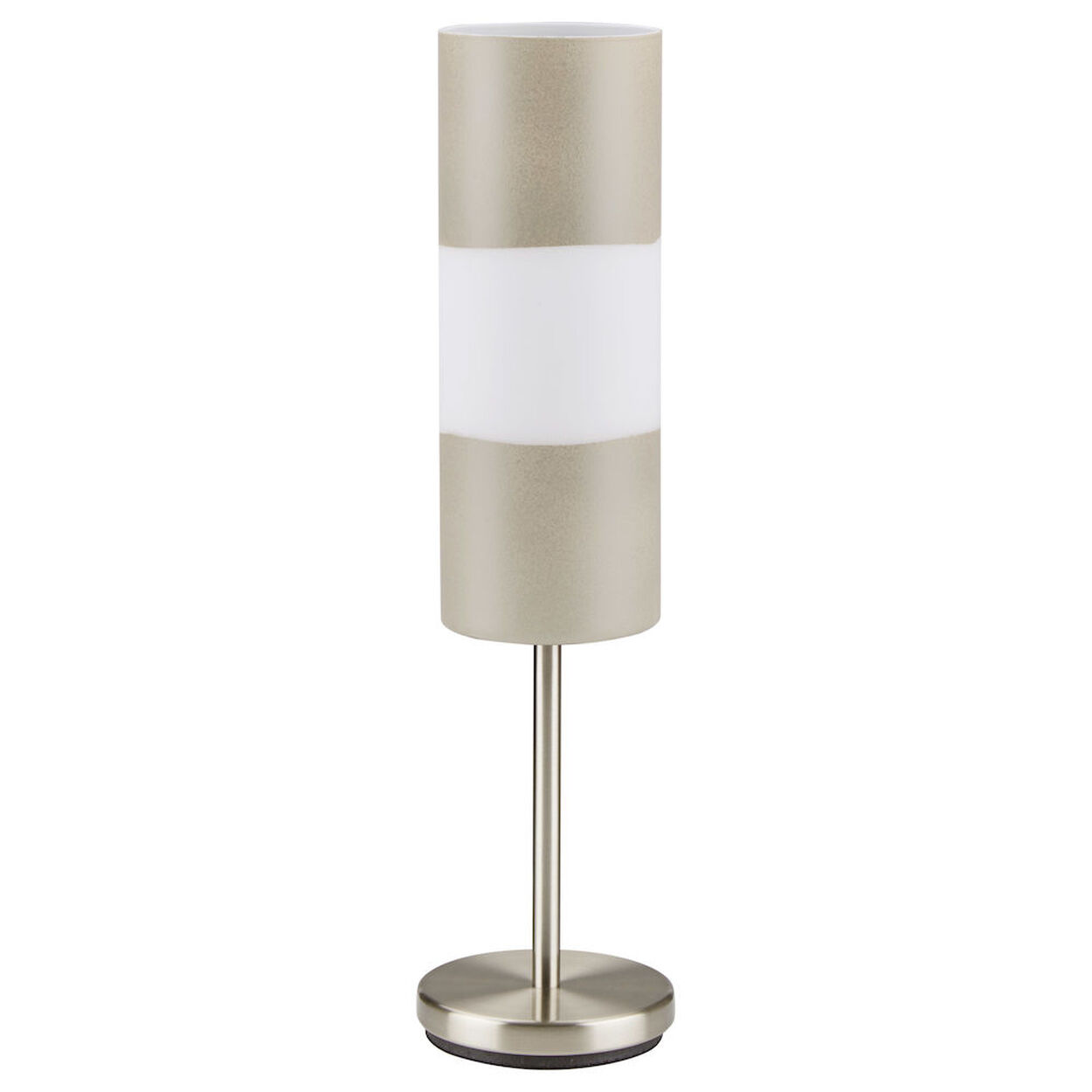 Cement Look Glass Table Lamp