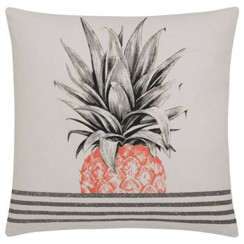 """Summer Time Decorative Pillow Cover 18"""" x 18"""""""