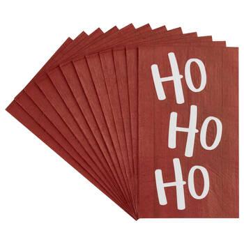 Pack of 20 Ho Ho Ho Table Napkins