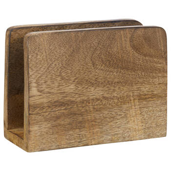 Mango Wood Napkin Holder