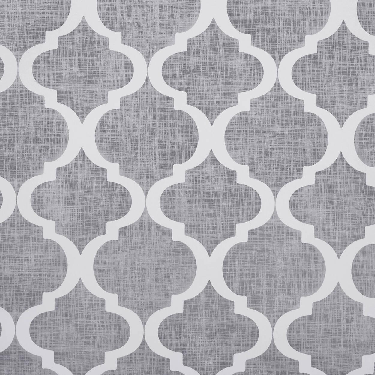 papier peint avec motif de tr fle rouleau double. Black Bedroom Furniture Sets. Home Design Ideas