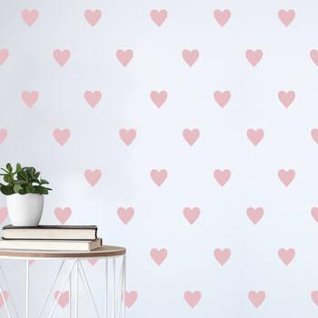 Heart Pattern Wall Sticker