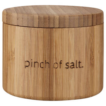 Bamboo Salt Jar