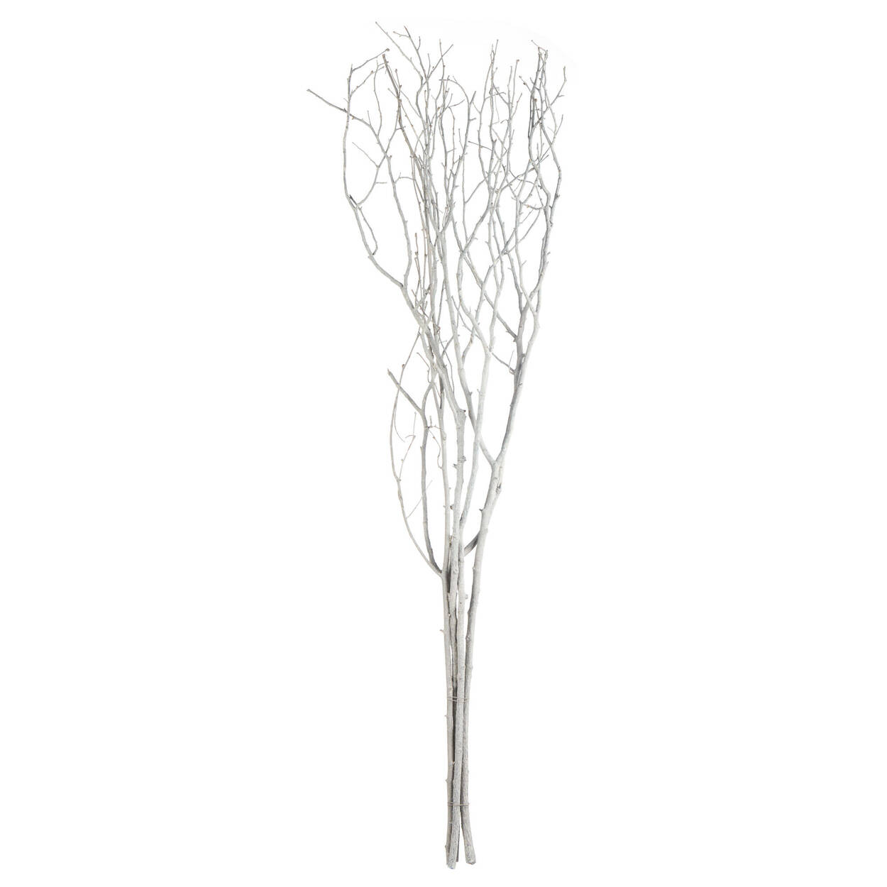 Branches décoratives blanches