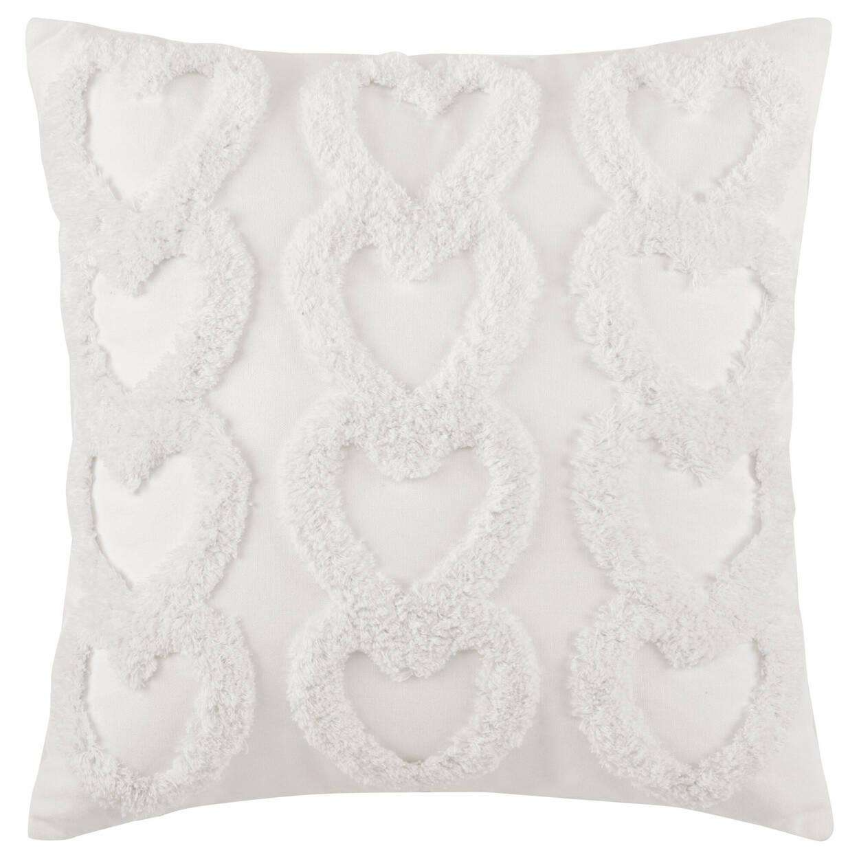 "Hearts Madalyn Decorative Pillow 20"" x 20"""
