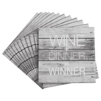 Set of 20 Winner Table Napkins