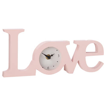 Horloge de table Love
