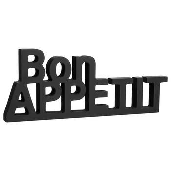 Decorative Words Bon Appetit 36 x 14.25 cm.
