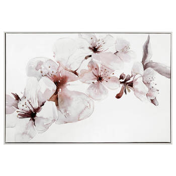 Soft Blossom Gel Embellished Framed Art