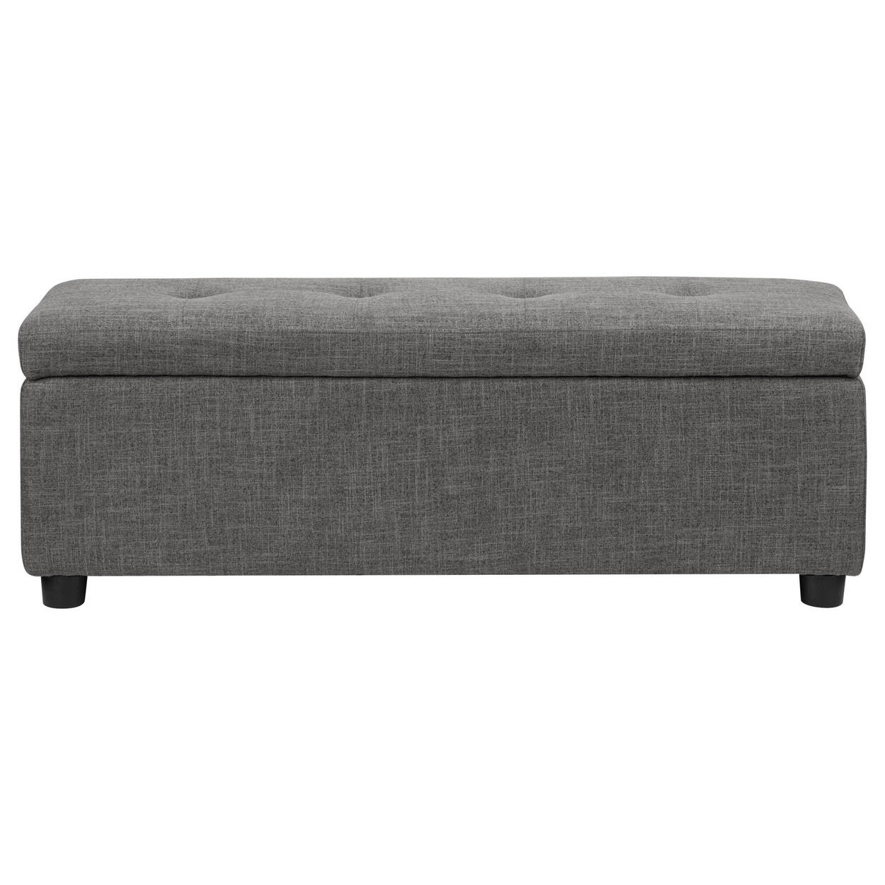 Fabric Storage Ottoman Bouclair Com