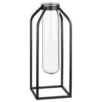 Black Metal Wire Vase