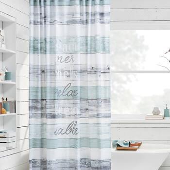 Beachwood Shower Curtain