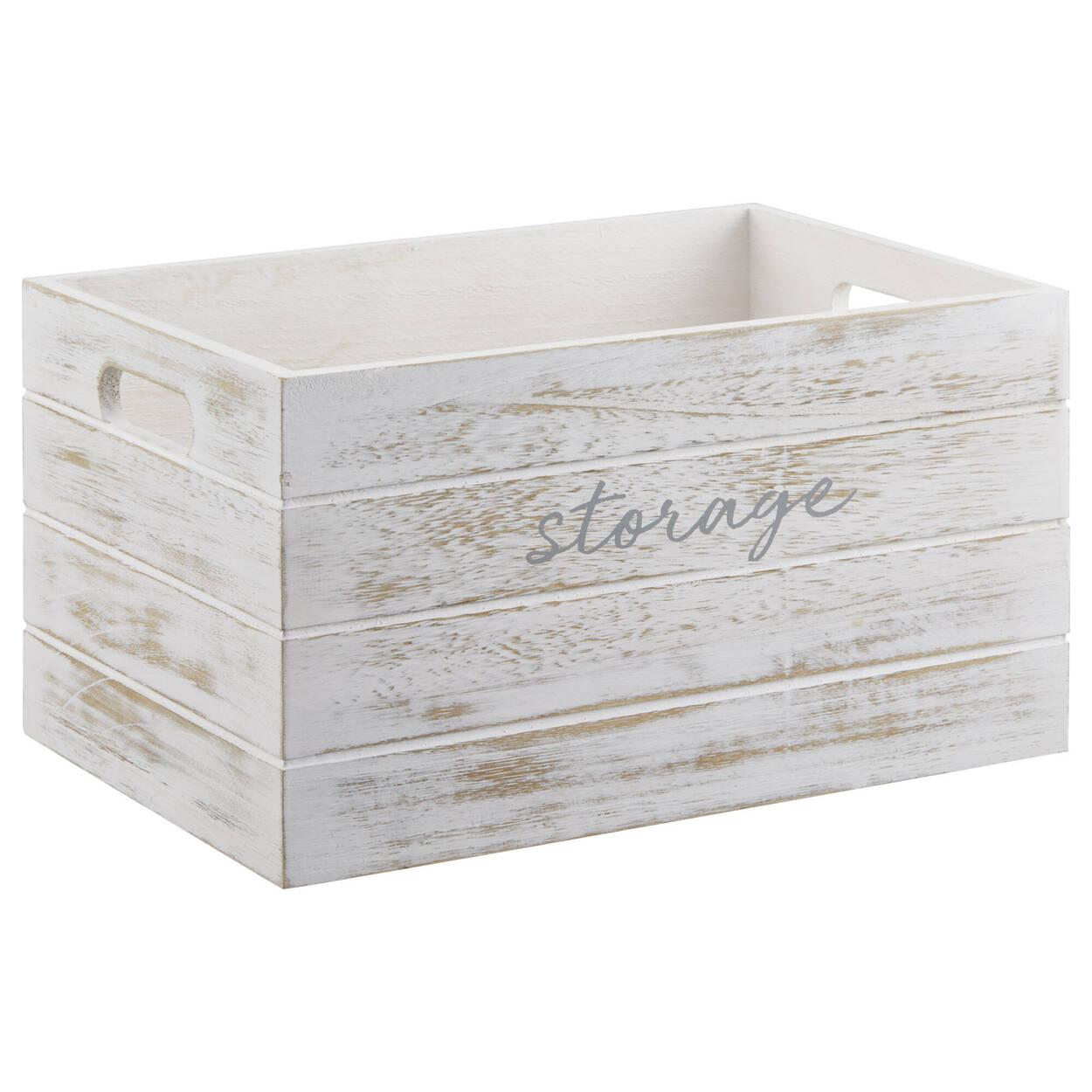 Caisse en bois Storage