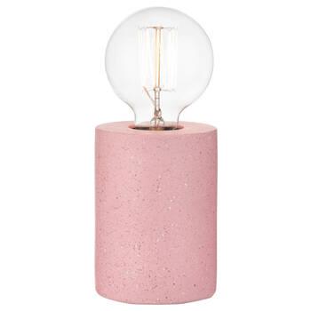 Lampe de table en ciment