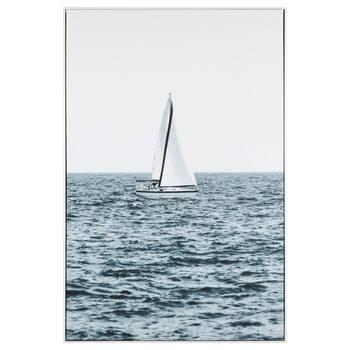 Quiet Sailing Framed Art
