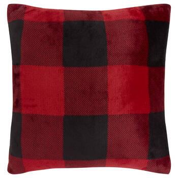 "Buffalo Plaid Decorative Pillow 18"" X 18"""