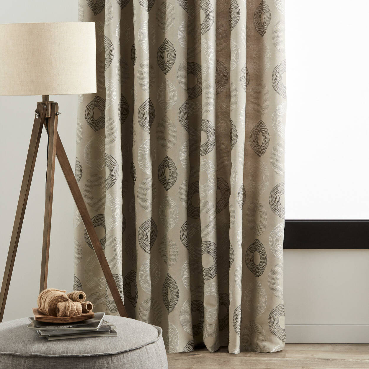 Christine Lined Curtain