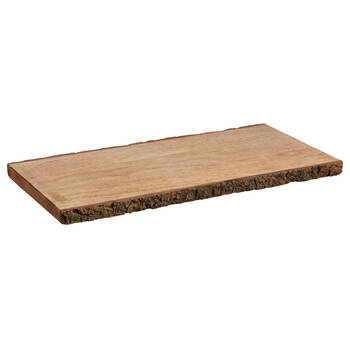 Plateau de service en bois de manguier