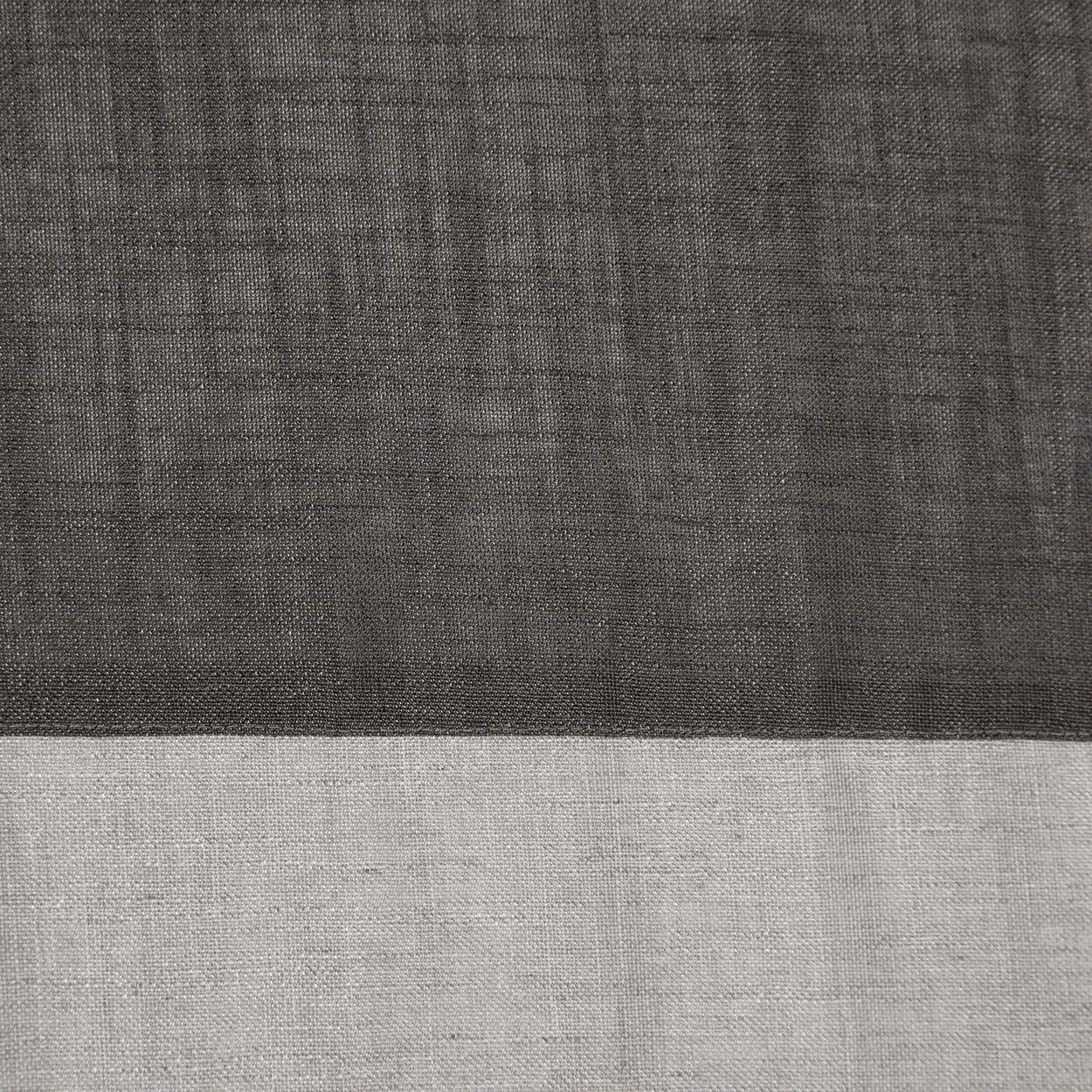 Thel Color Block Sheer Curtain