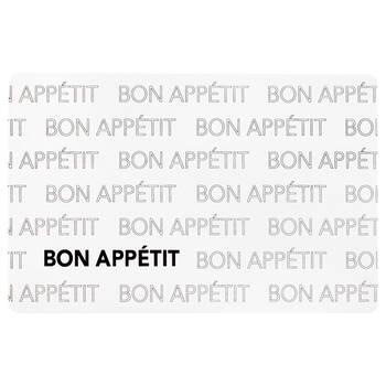 Napperon en PVC Bon Appétit