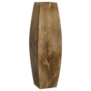 Mango Wood Floor Vase