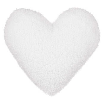 "Neva Heart-Shaped Decorative Pillow 15"" x 16"""
