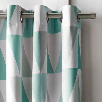 Trekant Geometric Blackout Curtain