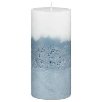 Three Tone Pillar Candle
