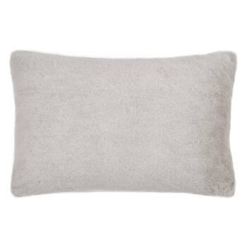 """Faux Fur Lumbar Decorative Pillow 13"""" x 20"""""""