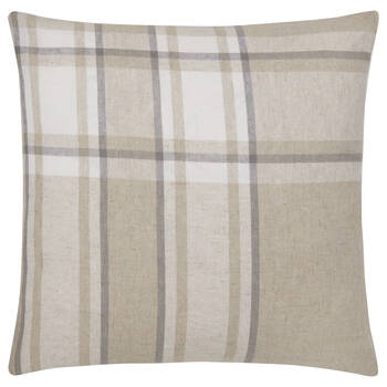 "Bentley Plaid Decorative Pillow 19"" x 19"""