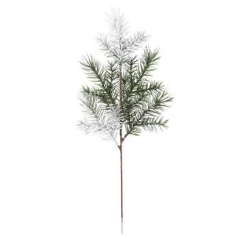 Decorative Snowy Pine Branch