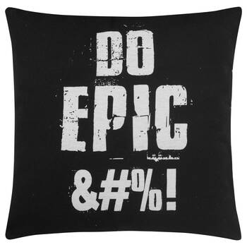 "Epic Decorative Pillow 18"" X 18"""