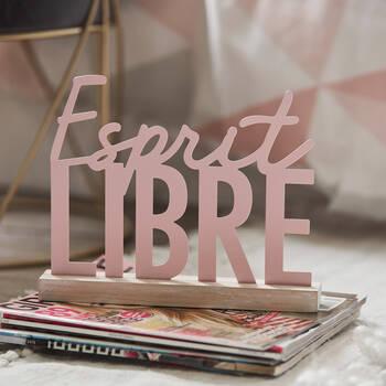 Decorative Plaque Esprit Libre