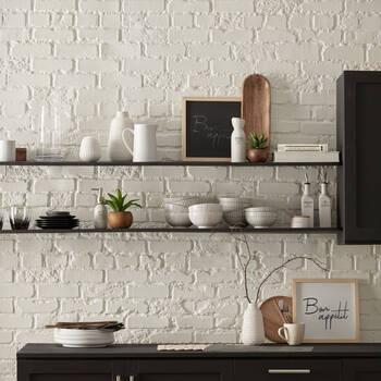 Bouteille pour vinaigrette en céramique avec bouchon en bambou