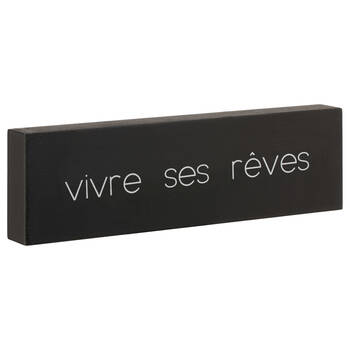 Decorative Block Vivre