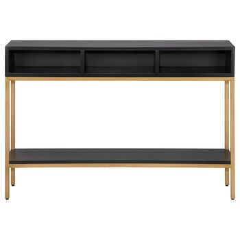 Calgary Wood and Metal Console