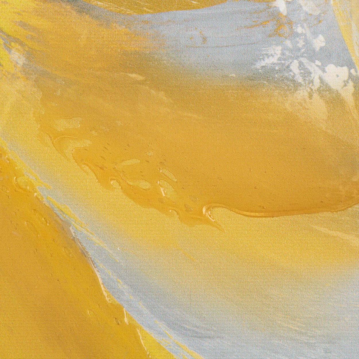 Floral Gel-Embellished Printed Canvas