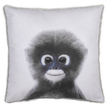 "Baby Monkey Decorative Pillow 15"" x 15"""