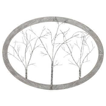 Trees Wood & Metal Wall Art