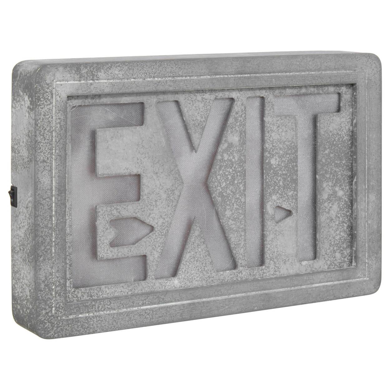 Signe décoratif Exit DEL