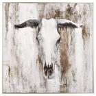 Cadre imprimé taureau