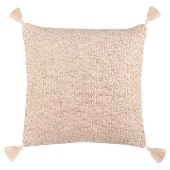 "Catalina Decorative Pillow with Tassels 17"" X 17"""