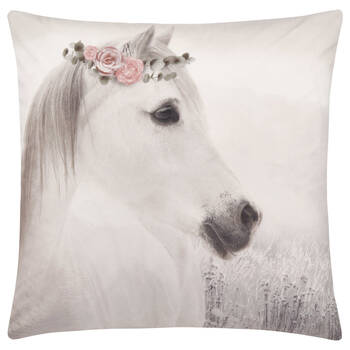 "Tali Horse Decorative Pillow 19"" X 19"""