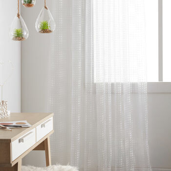 Polka Sheer Curtain